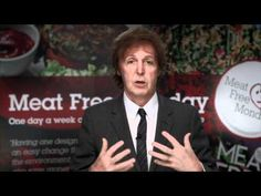 A Meat Free Monday Message to Schools from Paul McCartney Movie Speeches, Vegan Quotes, George Carlin, Animal Crackers, Food Industry, Meatless Monday, Vegan Lifestyle, Plant Based Diet, Paul Mccartney