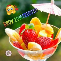 Good Afternoon, Good Morning, Fruit Salad, Watermelon, Sweets, Bonsai, Anna, Frases, Fantasy