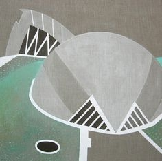 ARTFINDER: Valencia 1 by Lucie Jirku - Original painting in acrylic on standard edge canvas.