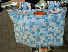 Ready-to-Roll Bike Pouch tutorial || by Amy from Sew Incredibly Lazy for Sew,Mama,Sew!