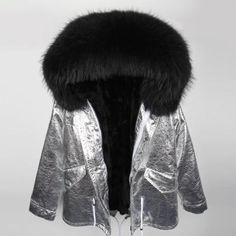 Women's Clothing Jackets & Coats Free Shipping Genuine Real Natural Rabbit Fur Vest With Big Raccoon Fur Collar Women Long R Winter Warm Jacket Complete Range Of Articles