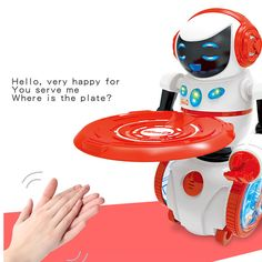 Intelligent Programming LED Light Dancing Humanoid Robot remote control Robot sing/dance balance robot electronic toys dog  Price: 31.99 & FREE Shipping #computers #shopping #electronics #home #garden #LED #mobiles #rc #security #toys #bargain #coolstuff |#headphones #bluetooth #gifts #xmas #happybirthday #fun Humanoid Robot, Electronic Toys, Dog Toys, Programming, Dancing, Remote, Led, Electronics, Battery Operated