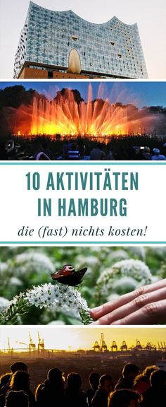 10 activities in Hamburg that cost (almost) nothing! - 10 activities in Hamburg that cost (almost) nothing! Europe Destinations, Holiday Destinations, Cities In Germany, Germany Travel, Time Travel, Places To Travel, Future Travel, Hacks, Travel Goals