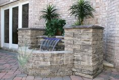 Looking to add a water feature to your outdoor space? A Colorfalls is a great choice to add the sound of water and light, with minimal maintenance. For more information, and to find a distributor or contractor near you, visit our website - www.atlanticwater... Photo Credit: Nicolock