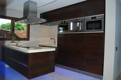 Exclusive custom made kitchen in luxury property in Maspalomas, Gran Canaria.