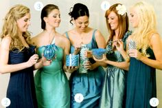 like this color combo for bridesmaids as alternative to nudes