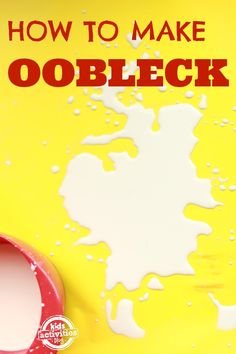 Have you ever made oobleck? It's so fun! So many ways to make and play with oobleck.