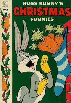 BUGS BUNNY'S CHRISTMAS FUNNIES 2, SILVER AGE DELL COMICS