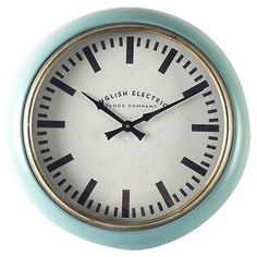 """Claire 21"""" Round Wall Clock"""