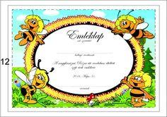 Óvodai emléklap - A Nagykanizsán 1994 óta működő Victory Dekor célja vállalkozók, cégek és magánszemélyek reklám,dekorációs igényeinek kielégítése. Bízom benne, hogy hamarosan Önt is elégedett ügyfeleim között köszönthetem. Award Certificates, School, Google, Bees, Frames, Bee, Kids, Schools