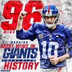 5feb37b29 Eli makes franchise history respect that man.