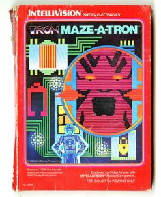 Tron: Maze-a-Tron for the IntelliVision