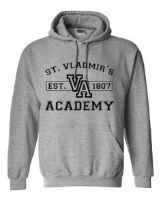 Vampire Academy inspired Hoodie by AlpineStoneApparel on Etsy, $24.95... I so want this!