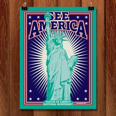 Statue of Liberty National Monument for the Creative Action Network and the National Park Service's See America Campaign.