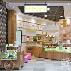 Buttercup Cake Shop. Another food stand similar to Yumi's :D