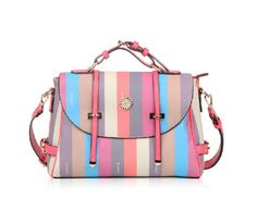 Find More Shoulder Bags Information about 2014 New Vintage Rainbow Stripe PVC Leather Satchel for Women Apricot Girls'  Shoulder Bags Crossbody Bags Handbags Sacs Bolso,High Quality leather restraints,China leather ipod Suppliers, Cheap leather dust from momofashion on Aliexpress.com