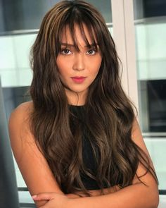 Want professional advice and tips about hair care? Hairstyles For Long Hair. Kathryn Bernardo Hairstyle, Kathryn Bernardo Outfits, Hot Hair Styles, Jenner, Asian Hair, Hair Care Tips, About Hair, Hair Designs, Hair Looks