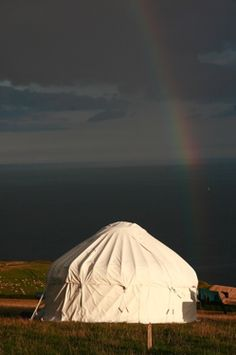 I will own a yurt one day.