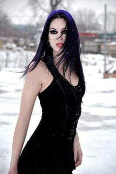 Gothic Black Widow