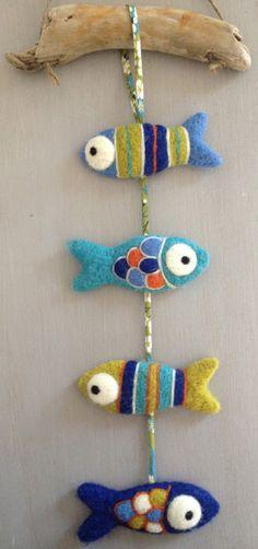 guirlande poissons à suspendre