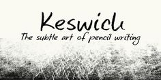 Keswick font download