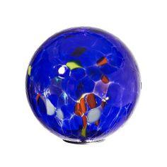 Garden Globes, Garden Balls, Contemporary Garden, Garden Ornaments, Glass Globe, Glass Ball, Hand Blown Glass, Amazon, Blue