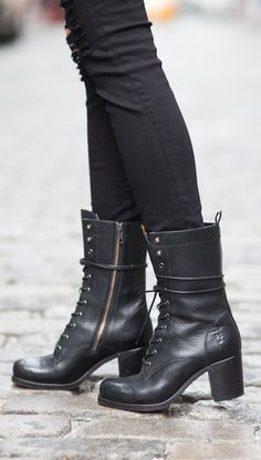 Kendall Lace Up Boots | The Frye Company