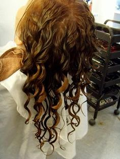 Body Wave Spiral Perm | spa perm is one of the most popular hair perm in nowadays suits for ... (I wonder if this really works)