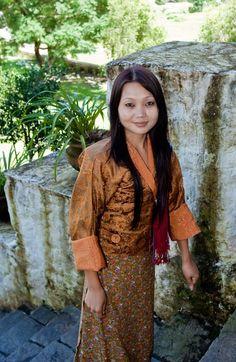 beautiful women of bhutan