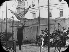 tuesday-johnson:    ca. 1902, Street Carnival in Madison, Wisconsin,by William G. Barckhan  via the Wisconsin Historical Society