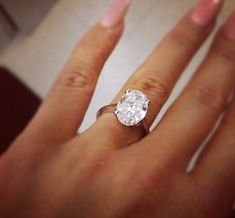 Um, the most beautiful wedding ring I've ever seen. Ever. Perfection.