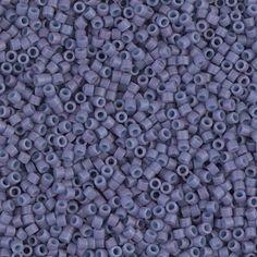 Delica 11/0 Miyuki Beads Dyed SF Opaque by ButtonsBeadsandBling