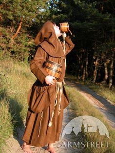 """Costume in fantasia medievale """"Il monaco"""" di ArmStreet"""