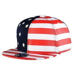 c99394884a4b1 USA Flag Snapback. SouvenirsGorrasGorras De ...