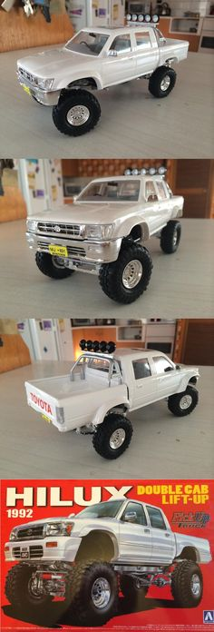 RC Cars Trigger the Racing Euphoria in the Air Toyota 4x4, Toyota Trucks, Rc Trucks, Toyota 4runner, Cool Trucks, Pickup Trucks, Model Cars Kits, Kit Cars, Hummer Truck