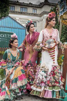 Flamenco Costume, Spanish Dress, Tribal Dress, Wedding Costumes, Moda Boho, Carnival Costumes, Folk Costume, Festival Wear, Indian Designer Wear