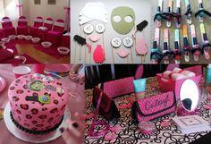 spa theme | Bookeventz | #birthday #girls #theme #spa #party
