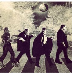 Finde eine neue Version: The Beatles - Abbey Road - Cover - NOX Archiv - Forum Retro Horror, Horror Icons, Vintage Horror, Horror Films, Horror Art, Funny Horror, Abbey Road, Halloween Horror, Halloween Art