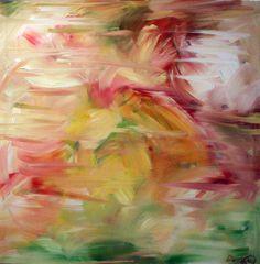 "Saatchi Online Artist: Damilola Odusote; Acrylic, 2011, Painting ""Waterlily"""