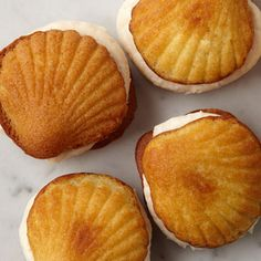 seashell pastries (moon pies)