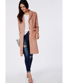 Tailored Boyfriend Coat May 2017