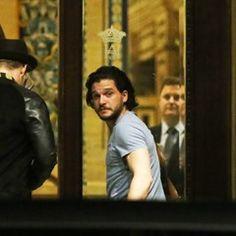 Kit Harington arrives in Seville to start filming for Game of Thrones