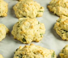 Fresh Lemon and Basil take ordinary drop biscuits  to the next level and they're vegan.