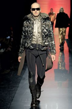 Jean Paul Gaultier Fall 2011 Menswear. I don't pin neckties (boring!) but this whole ensemble is amazing!