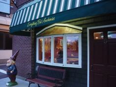 Everything But Anchovies, Hanover NH, is a terrific, affordable restaurant in the downtown district. They actually do have anchovies on the menu. http://visitingnewengland.com/blog-cheap-travel/?p=1599