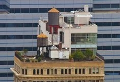 8 Amazing Hidden Rooftop Houses You've Probably Never Noticed in New York City | Inhabitat New York City