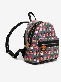 757c1f1d6c Bob s Burgers Chibi Print Mini Backpack - BoxLunch Exclusive