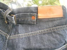 Vintage Gucci Blue Denim