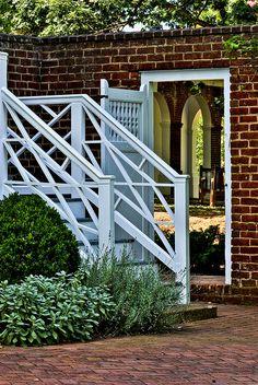 Beautiful staircase and gate #UVA