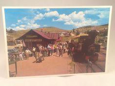 Cripple Creek and Victor Narrow Gauge Train Colorado Postcard